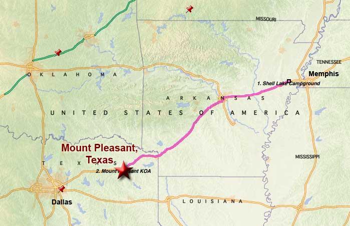 Mount pleasant tx